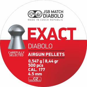 JSB Diabolo Exact 4,50-4,53mm 500stk