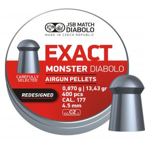 JSB Diabolo Monster 4,52mm ekstra tung 400stk ny versjon