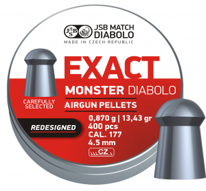 JSB Monster 4,52mm ekstra tung 400stk redesigned