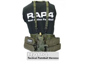 RAP4 Paintball bæresystem 4+1 (olivengrønn) 001895