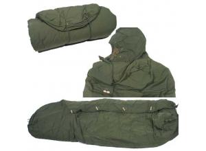 Forsvarets sovepose kapok brukt