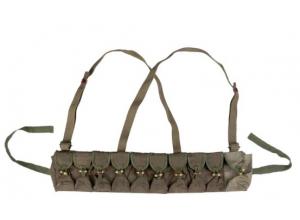 Vietcong bandolær for ammunisjon fra Vietnamkrigen