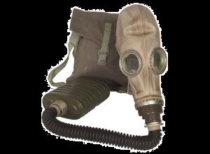 Gassmaske polsk brukt men meget pen