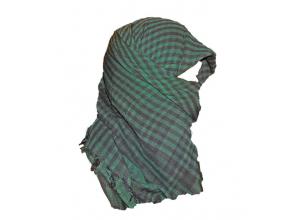 Shemagh skjerf i grønt og svart