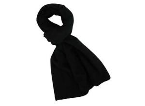 Fair Wind fleece skjerf svart