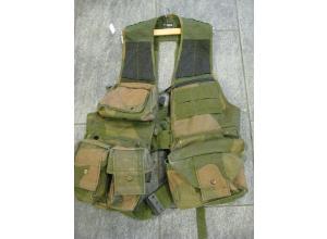 Forsvarets stridsvest CV-1 brukt grenader/mg