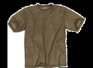 T-skjorte netting str middels coyote brun