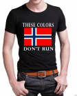 "ARMO Tactical ""These Colors Don´t Run"" t-skjorte"