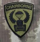 Chairborne special forces brodert merke svart/grønt