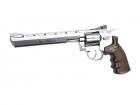 ASG Dan Wesson luftpistol sølv 8 tommer løp BB