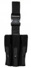 Combatkit 3x lårlomme for pistol svart