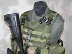 Combatkit v-geværreim grønn WA0028
