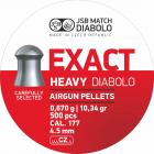 JSB Exact Heavy 4,52mm 500stk