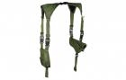 Leapers skulderhylster olivengrønt PVC-H170G