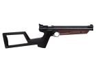 Crosman American Classic 1377 luftpistol m/skulderstokk brun