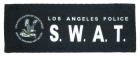 Guarder LAPD SWAT borrelåsmerke lite
