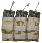 Combatkit M1 trippel CQB maglomme coyote brun MP5 MAS350T
