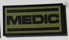 """Medic"" pvc merke grønt"