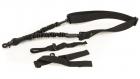 Leapers 1-punkts elastisk geværreim PVC-GB505B-B