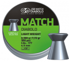 JSB Green Match Diabolo 4,50mm 500stk
