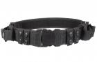 Leapers Heavy Duty belte med 2 maglommer svart