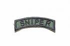 """Camotech """"Sniper"""" skuldermerke grønt"""