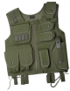 Tactical Vest, grønn, (SWAT) 15238