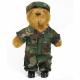 Teddybjørn US Army woodland 52cm