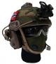 Combatkit munnbind/ansiktsmaske i norsk skogkamo med ventil str large UN013C