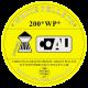 Coal WP spisse kuler 200 stk 4,5mm