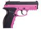 Crosman Wildcat rosa CO2 luftpistol BB