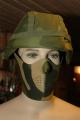 Neoprene ansiktsbeskyttelse i norsk kamo