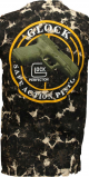 T-skjorte med Glock 17/P80 pistol i svart kamo medium