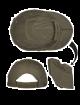Foldbar caps olivengrønn 12318601