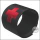 Medic armbånd svart med borrelås BEXMEDBSW
