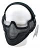 Netting 3/4 maske svart HLT
