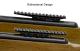 Leapers overgang 9-11mm til 21mm Picatinny rail