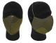 Combatkit ansiktsmaske 2-lags med innstikk for kirurgisk munnbind