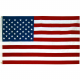 Fullstørrelse USA flagg 150x90 cm