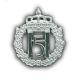 Harald 5 båtluemerke sølv