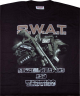 T-skjorte SWAT svart large