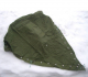 Forsvarets teltduk grønn m/stenger og plugger