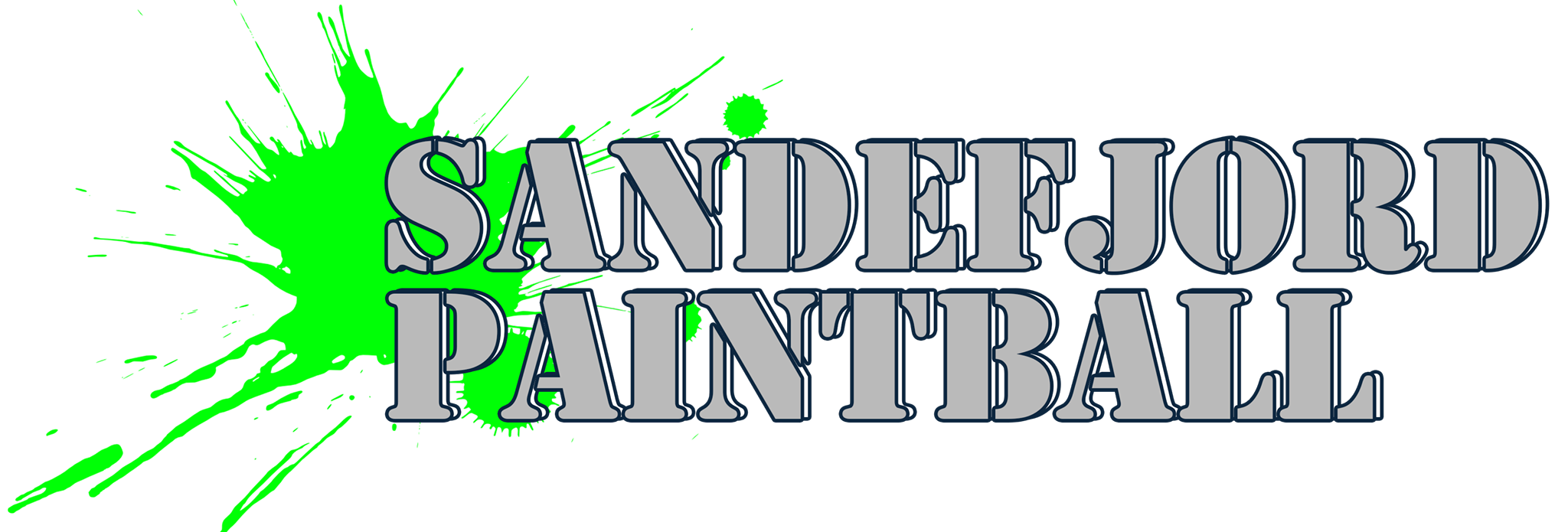 Sandefjord Paintball logo